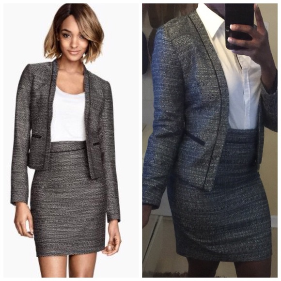 0389d50a7 H&M Dresses & Skirts - Sale! H&M Sleek and Chic Business Suit
